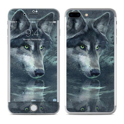 Apple iPhone 7 Plus Skin - Wolf Reflection