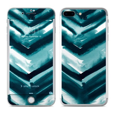 Apple iPhone 7 Plus Skin - Watercolor Chevron