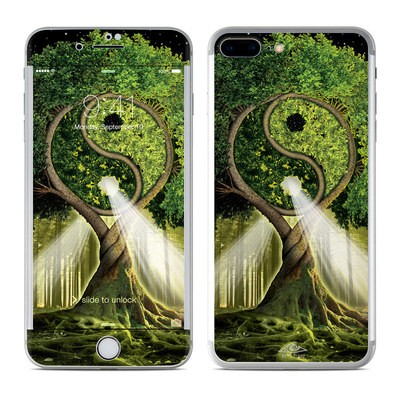 Apple iPhone 7 Plus Skin - Yin Yang Tree