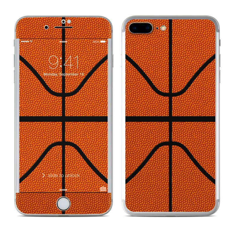 brand new ea521 bec2d Apple iPhone 7 Plus Skin - Basketball