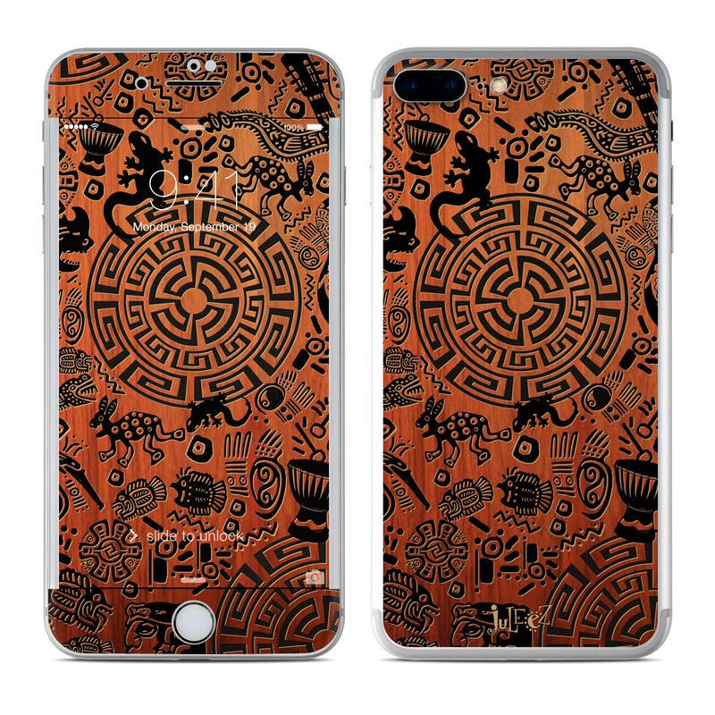 Apple Iphone 7 Plus Skin Primitive Symbols By Juleez Decalgirl