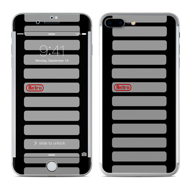 finest selection ace1e f516d Apple iPhone 7 Plus Skin - Retro