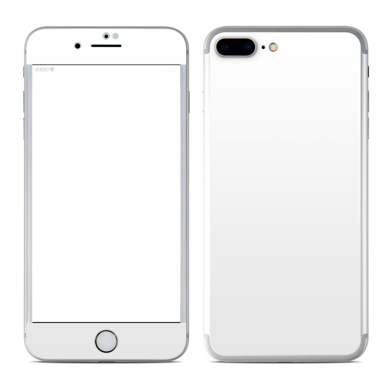 Apple iPhone 7 Plus Skin - Solid State White by Solid Colors ...