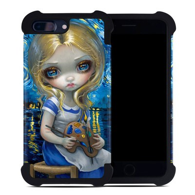 Apple iPhone 7 Plus Bumper Case - Alice in a Van Gogh