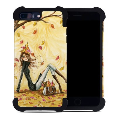 Apple iPhone 7 Plus Bumper Case - Autumn Leaves