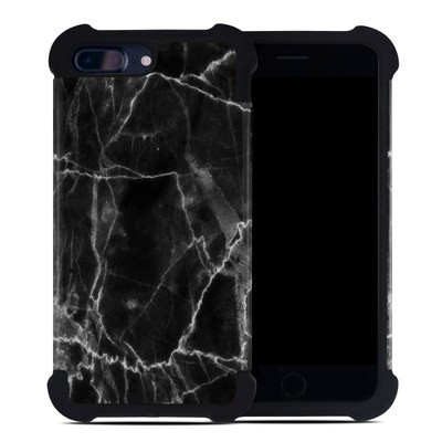 Apple iPhone 7 Plus Bumper Case - Black Marble