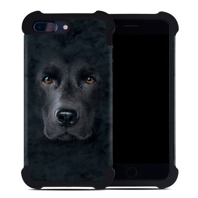 Apple iPhone 7 Plus Bumper Case - Black Lab