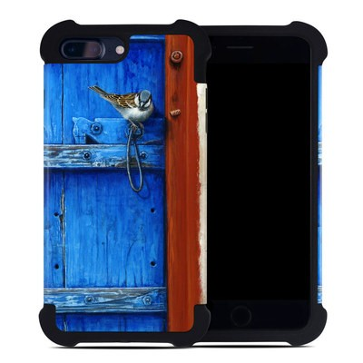 Apple iPhone 7 Plus Bumper Case - Blue Door