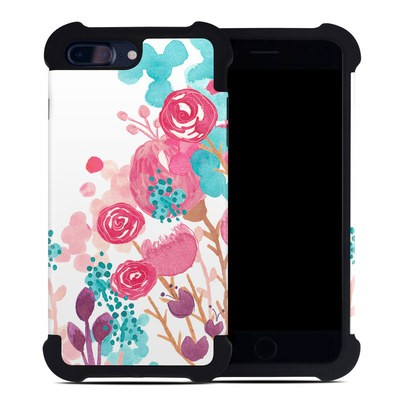 Apple iPhone 7 Plus Bumper Case - Blush Blossoms