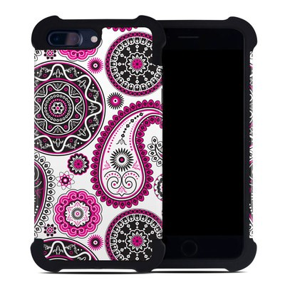 Apple iPhone 7 Plus Bumper Case - Boho Girl Paisley