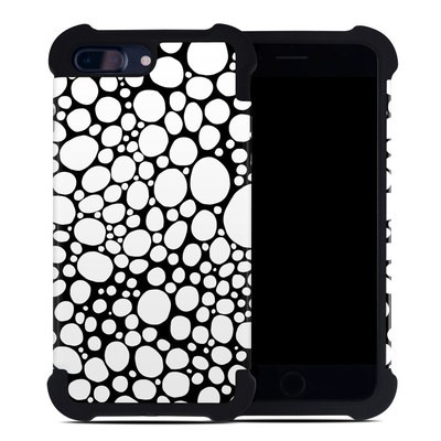 Apple iPhone 7 Plus Bumper Case - BW Bubbles