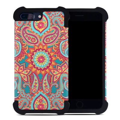 Apple iPhone 7 Plus Bumper Case - Carnival Paisley