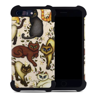 Apple iPhone 7 Plus Bumper Case - Cats