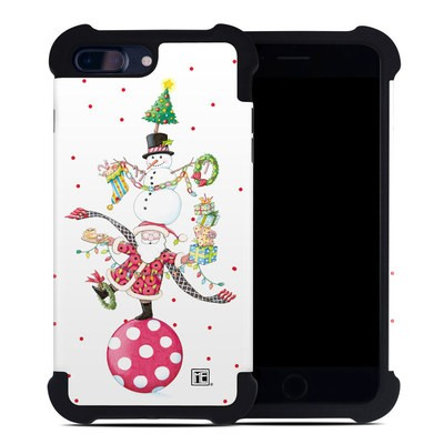 Apple iPhone 7 Plus Bumper Case - Christmas Circus