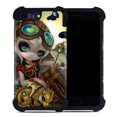 Apple iPhone 7 Plus Bumper Case - Clockwork Dragonling