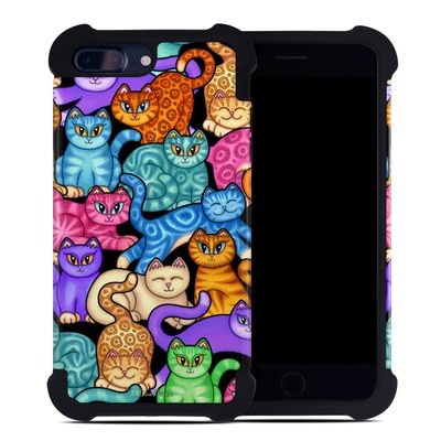 Apple iPhone 7 Plus Bumper Case - Colorful Kittens