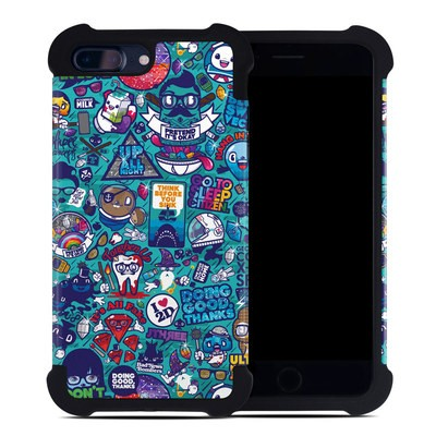 Apple iPhone 7 Plus Bumper Case - Cosmic Ray