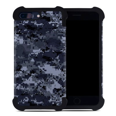 Apple iPhone 7 Plus Bumper Case - Digital Navy Camo