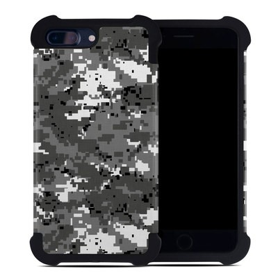 Apple iPhone 7 Plus Bumper Case - Digital Urban Camo