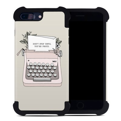 Apple iPhone 7 Plus Bumper Case - Dont Stop