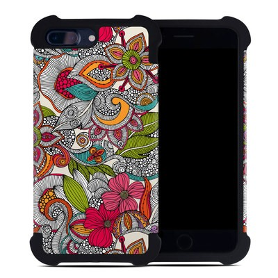 Apple iPhone 7 Plus Bumper Case - Doodles Color