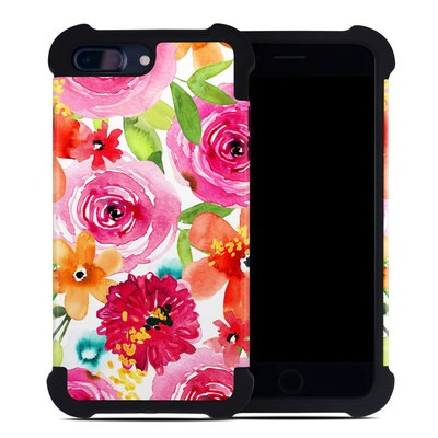 Apple iPhone 7 Plus Bumper Case - Floral Pop