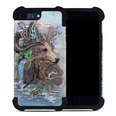 Apple iPhone 7 Plus Bumper Case - Forest Warden