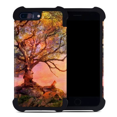 Apple iPhone 7 Plus Bumper Case - Fox Sunset