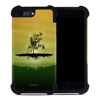 Apple iPhone 7 Plus Bumper Case - Flying Tree Amber