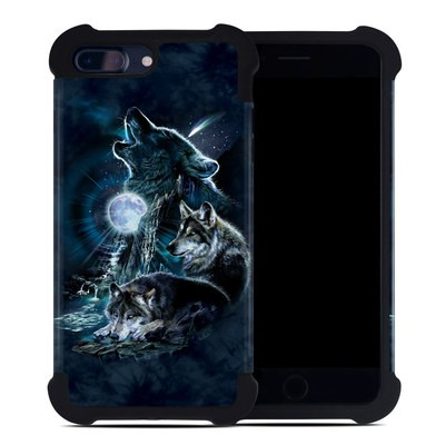 Apple iPhone 7 Plus Bumper Case - Howling