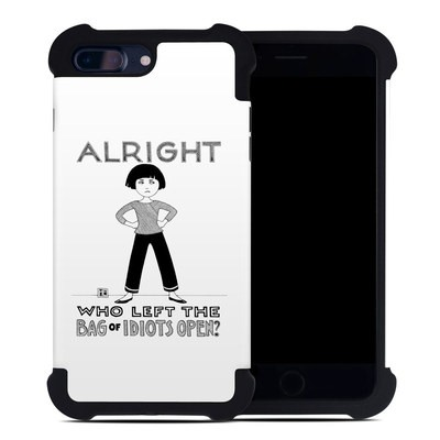 Apple iPhone 7 Plus Bumper Case - Bag of Idiots