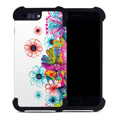 Apple iPhone 7 Plus Bumper Case - Intense Flowers