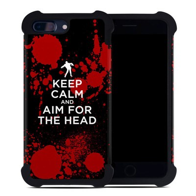 Apple iPhone 7 Plus Bumper Case - Keep Calm - Zombie