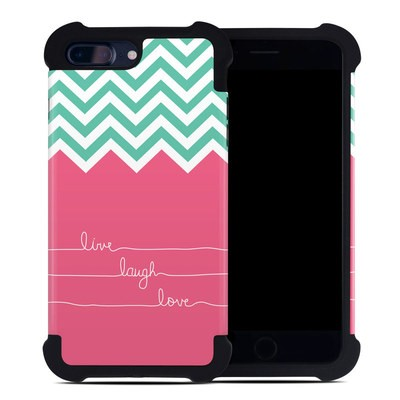 Apple iPhone 7 Plus Bumper Case - Live Laugh Love