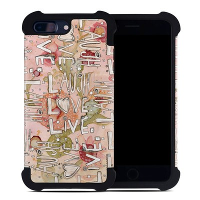Apple iPhone 7 Plus Bumper Case - Love Floral