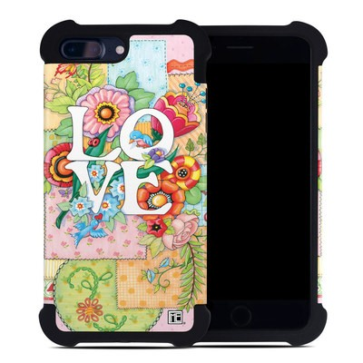 Apple iPhone 7 Plus Bumper Case - Love And Stitches