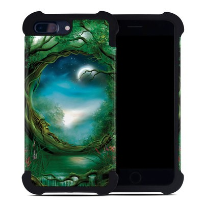 Apple iPhone 7 Plus Bumper Case - Moon Tree