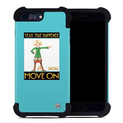 Apple iPhone 7 Plus Bumper Case - Move On