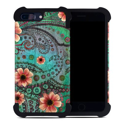Apple iPhone 7 Plus Bumper Case - Paisley Paradise