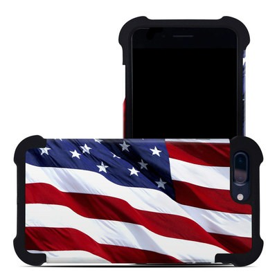 Apple iPhone 7 Plus Bumper Case - Patriotic