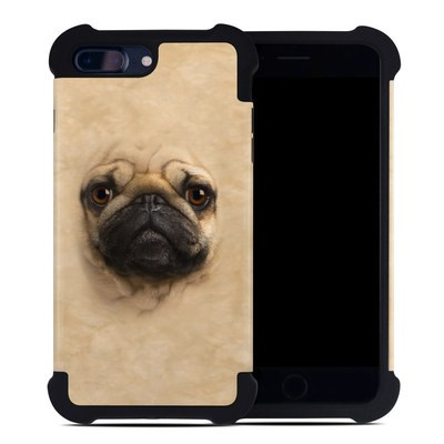 Apple iPhone 7 Plus Bumper Case - Pug