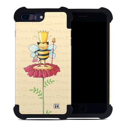 Apple iPhone 7 Plus Bumper Case - Queen Bee