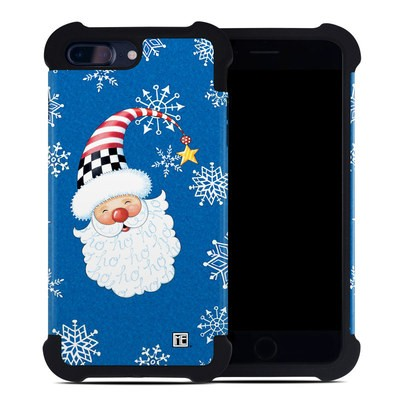 Apple iPhone 7 Plus Bumper Case - Santa Snowflake
