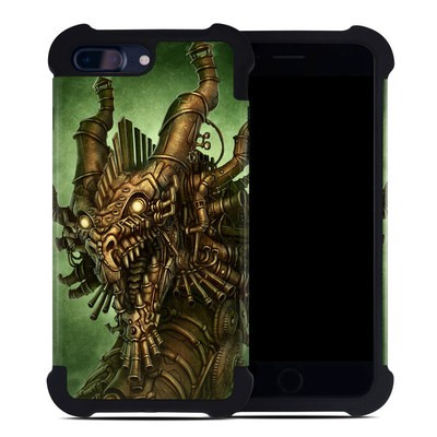 Apple iPhone 7 Plus Bumper Case - Steampunk Dragon