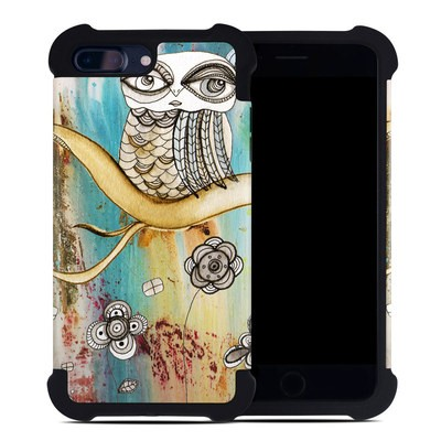 Apple iPhone 7 Plus Bumper Case - Surreal Owl
