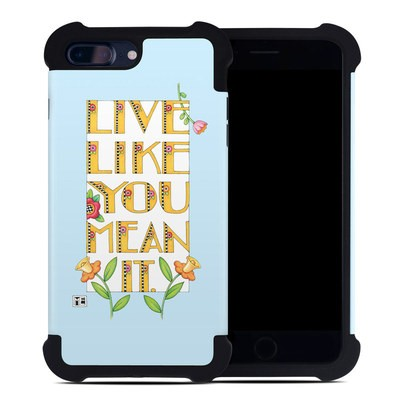 Apple iPhone 7 Plus Bumper Case - Mean It