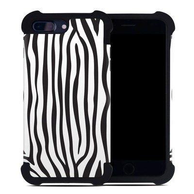 Apple iPhone 7 Plus Bumper Case - Zebra Stripes