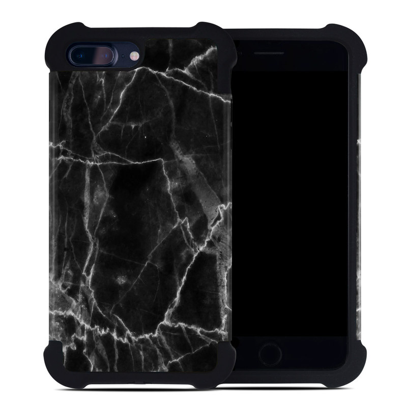 more photos 7ae45 33096 Apple iPhone 7 Plus Bumper Case - Black Marble