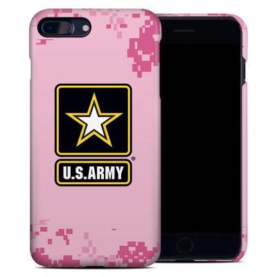 Apple iPhone 7 Plus Clip Case - Army Pink