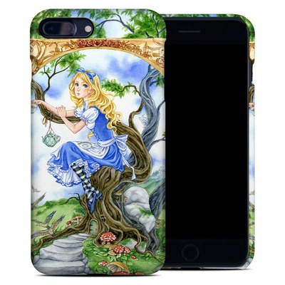 Apple iPhone 7 Plus Clip Case - Alice's Tea Time